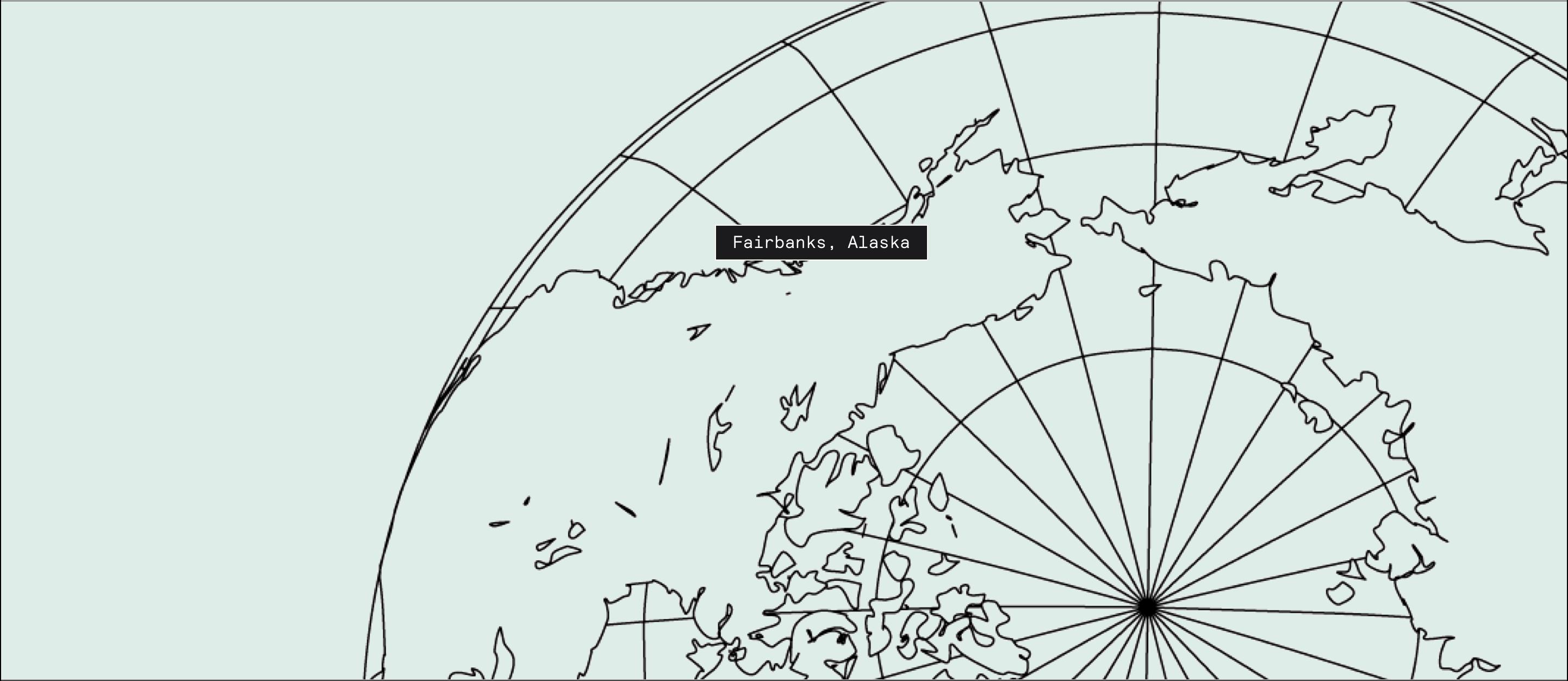 Fairbanks, Alaska on map