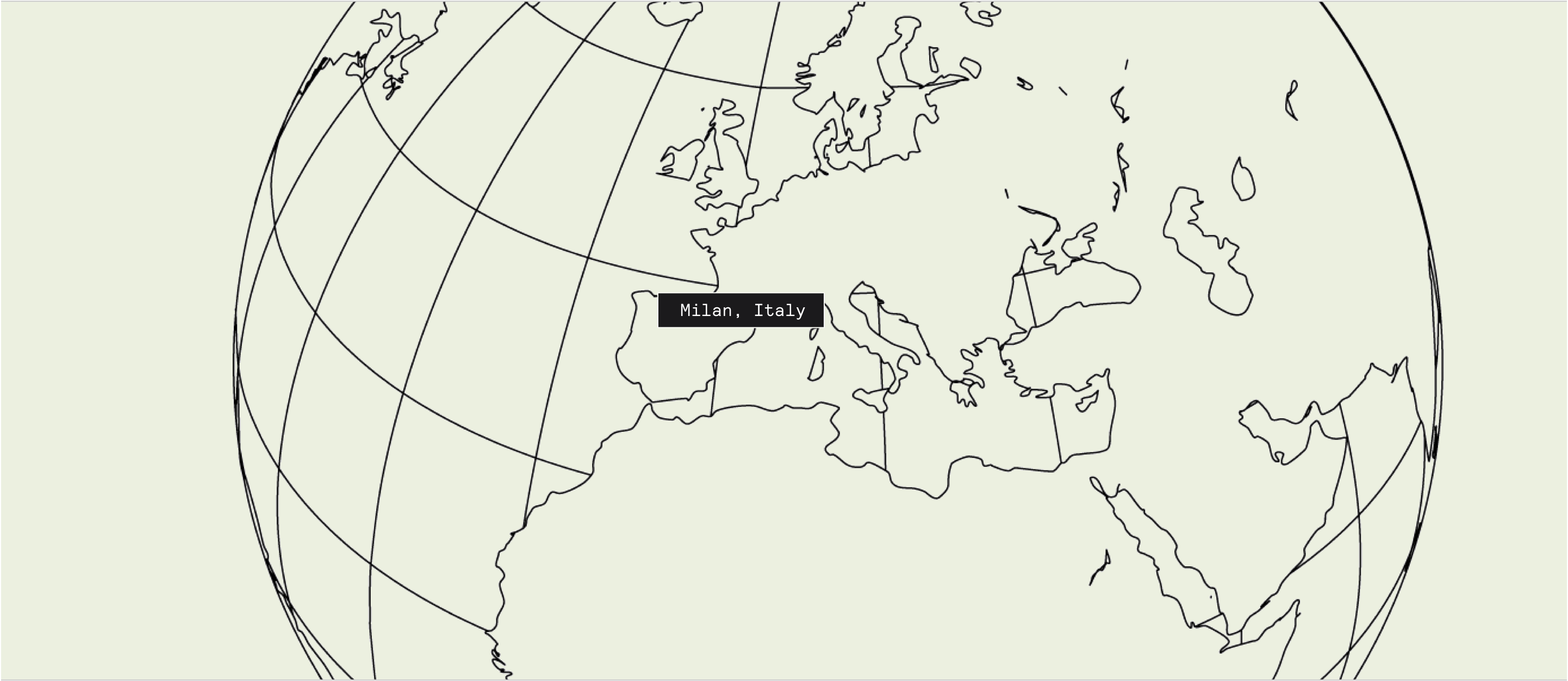 Italy on illustrated map
